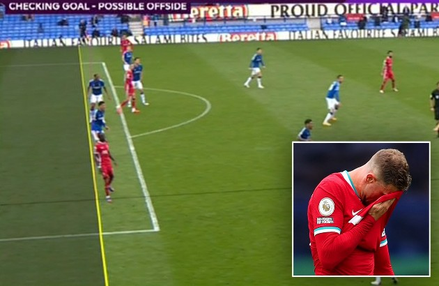 MARK CLATTENBURG: Liverpool's Sadio Mane WAS offside in crucial Merseyside derby decision... but the law must be changed - Bóng Đá