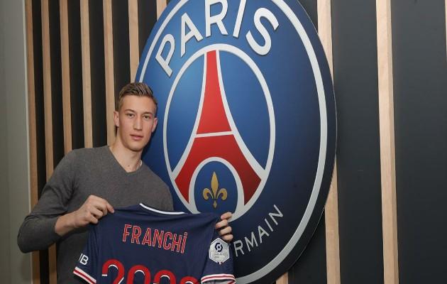Franchi tiếp tục gắn bó với PSG.