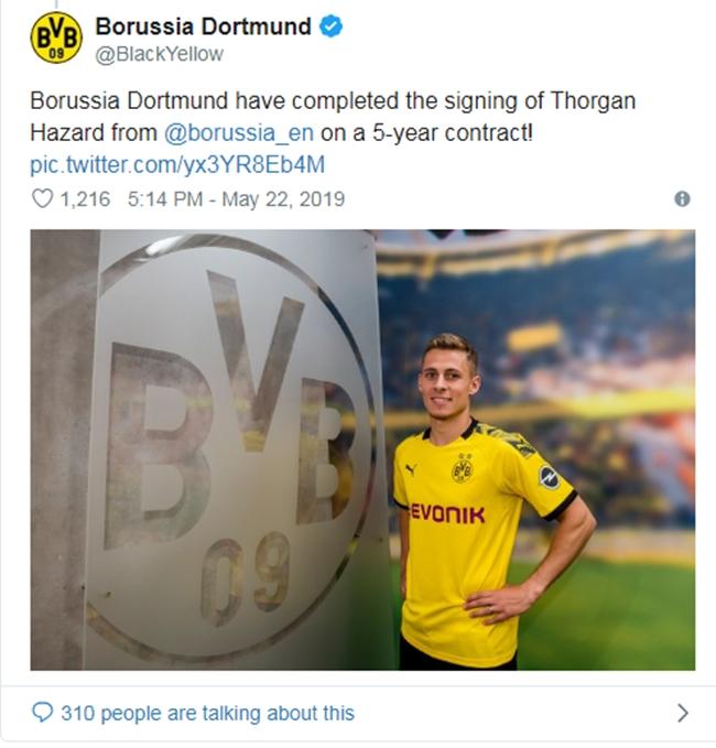 CHÍNH THỨC: Quá nhanh! Dortmund chiêu mộ thành công tân binh thứ 2 - Bóng Đá