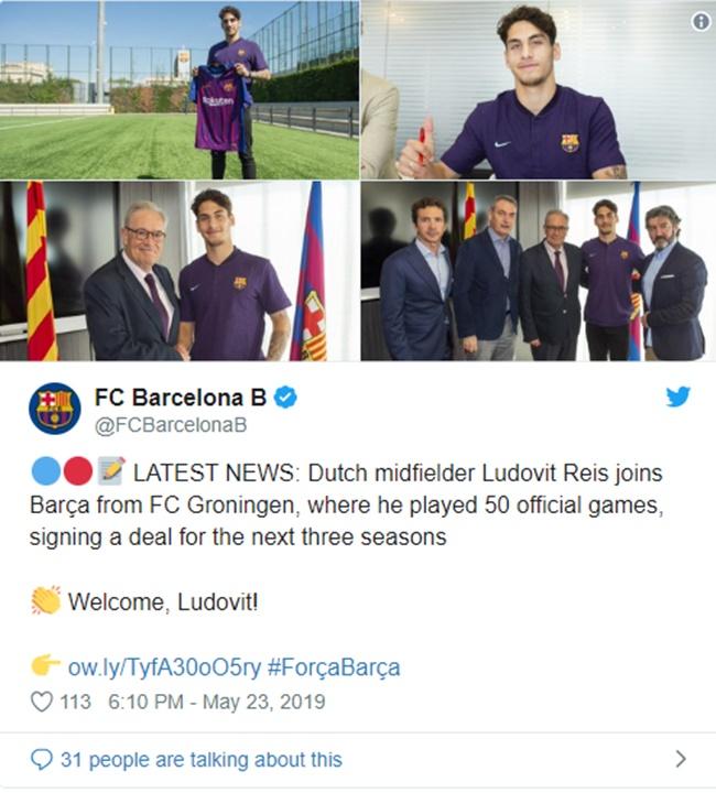NÓNG: Barca có thêm một tân binh, kẻ có mức phí giải phóng 100 triệu - Bóng Đá