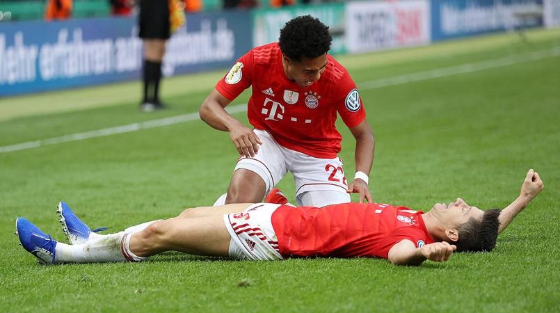 Lewy tỏa sáng, Bayern đè bẹp Leipzig đăng quang cúp quốc gia Đức - Bóng Đá