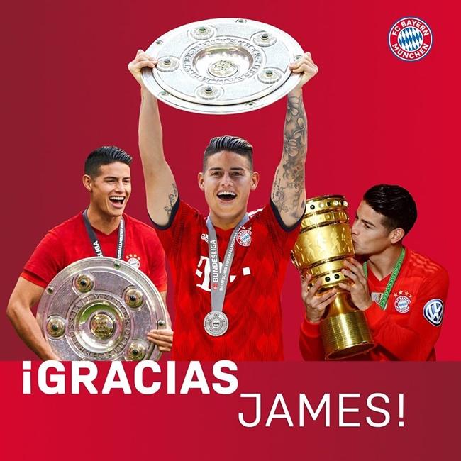 XONG! Mối tình James-Bayern tan vỡ, số 11 đưa ra câu trả lời cuối cùng - Bóng Đá