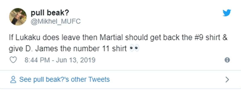 Manchester United fans make Anthony Martial shirt number demand - Bóng Đá