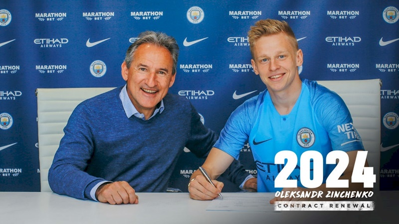 ZINCHENKO PENS NEW THREE YEAR EXTENSION - Bóng Đá