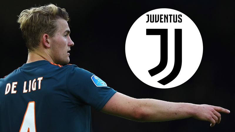 De Ligt has wanted Juventus move since January - Bóng Đá
