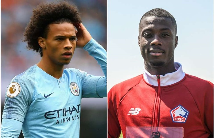 Bayern Munich reportedly set to sign wingers Leroy Sane & Nicolas Pepe for €165m - Bóng Đá