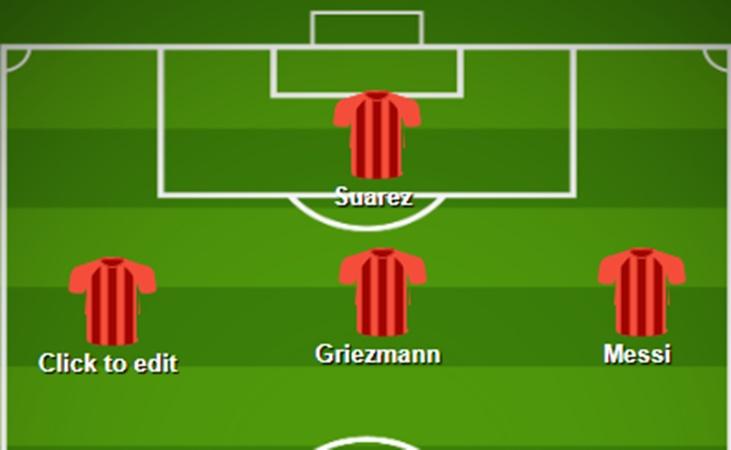 Đến Barca, Griezmann có thể đá ở vị trí nào? - Bóng Đá