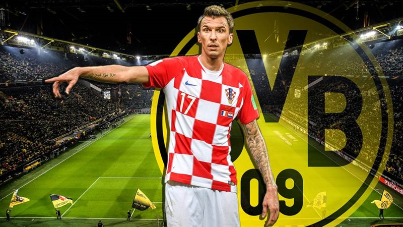 Mandzukic does not want Borussia Dortmund move - Bóng Đá