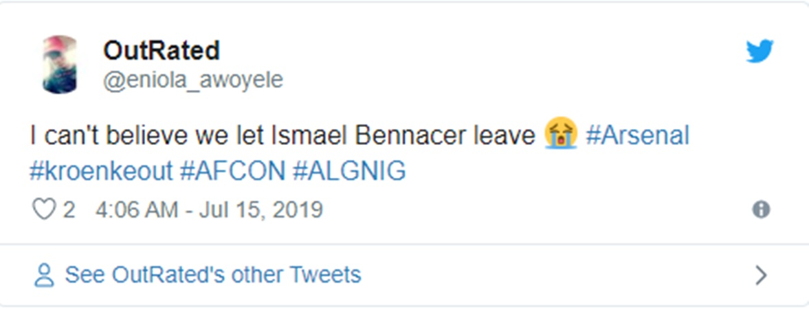 Arsenal fans react to Ismael Bennacer's performance - Bóng Đá
