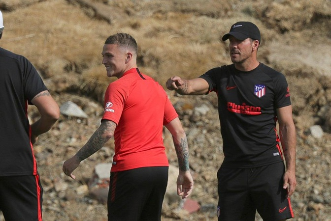 Trippier thrilled to work under Simeone after completing Atletico Madrid switch - Bóng Đá