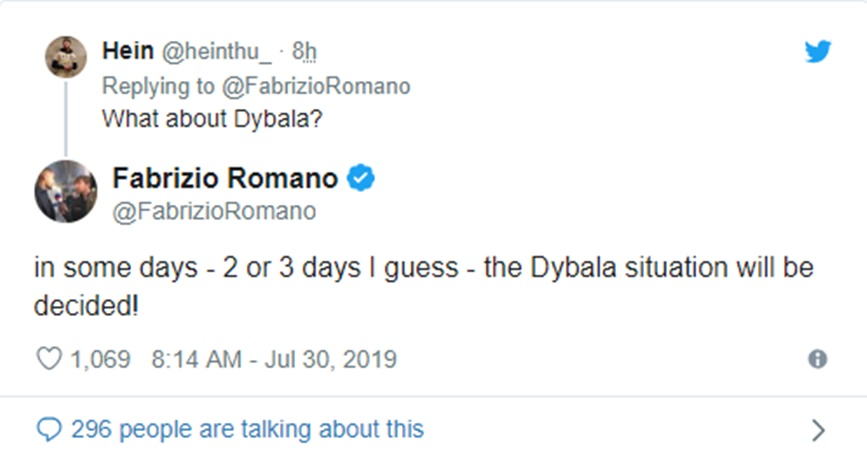 Fabrizio Romano: Manchester United close to agreeing deals for Harry Maguire and Paulo Dybala - Bóng Đá