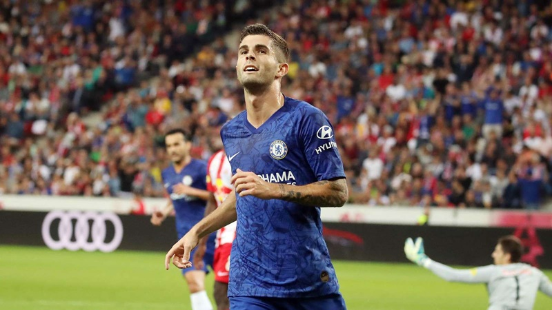 'I was very impressed with him' - Lampard hails Pulisic following brace - Bóng Đá