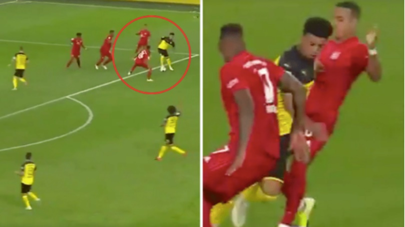 Sancho's Highlights Against Bayern Prove He's One Of The Biggest Talents - Bóng Đá