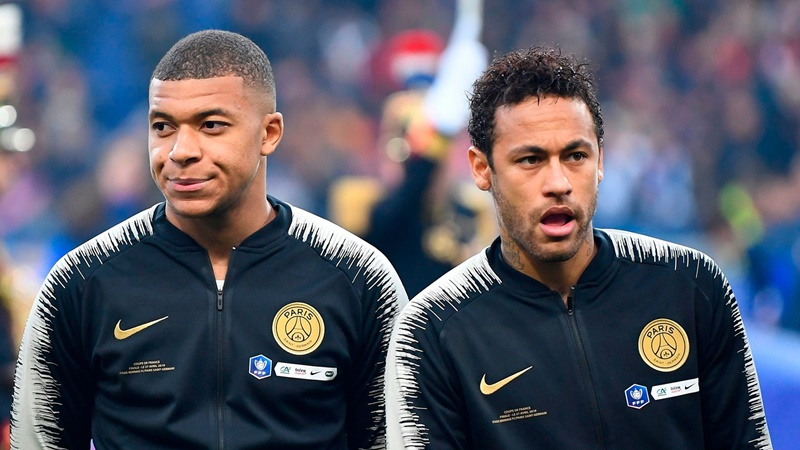 Mbappé Urges Neymar to Stay At PSG - Bóng Đá