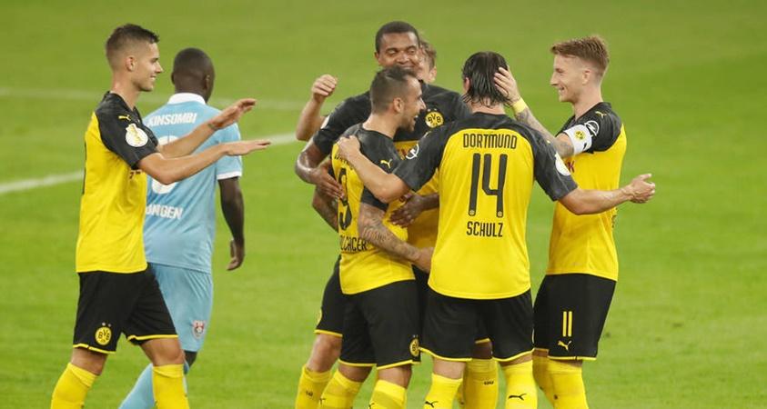 Song sá Reus-Alcacer giúp Dortmund vượt ải KFC Uerdingen - Bóng Đá