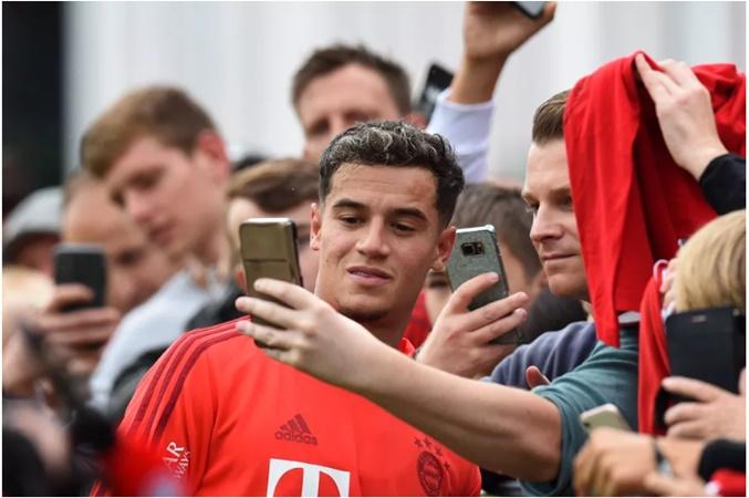 Chưa đá trận nào cho Bayern nhưng Coutinho đã lập được 1 kỷ lục đáng nể - Bóng Đá