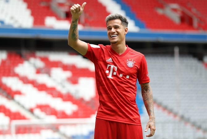 Philippe Coutinho and Bayern Munich's top 5 Brazilians - Bóng Đá