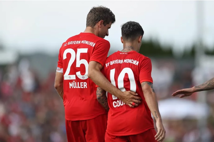 Müller on Coutinho: what's important is that we have a top team every three days  - Bóng Đá