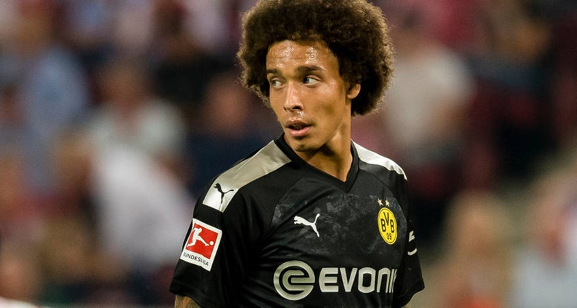 Axel Witsel out injured with torn muscle - Bóng Đá