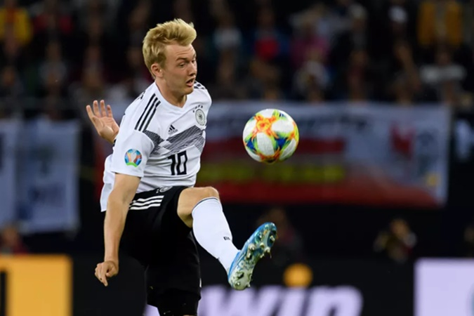 Julian Brandt hopes for more playing time and a system change against Northern Ireland - Bóng Đá