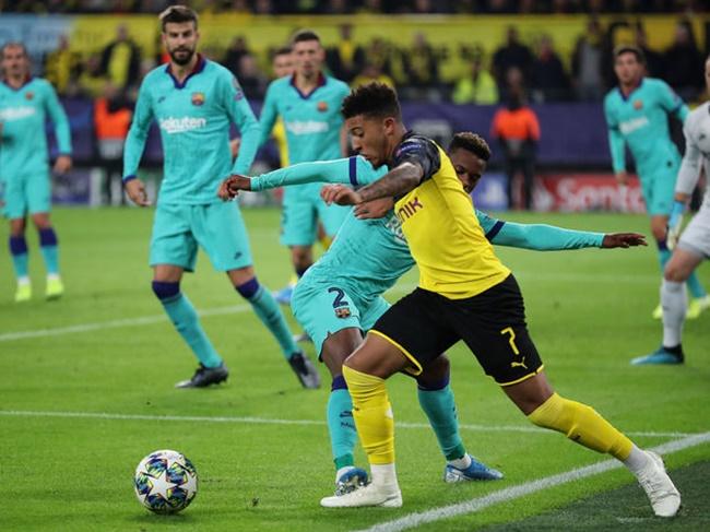 Ảnh sau trận Dortmund Barca - Bóng Đá