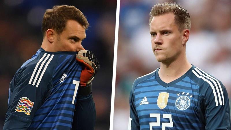 'Ter Stegen has no claim to play for Germany' - Hoeness  - Bóng Đá
