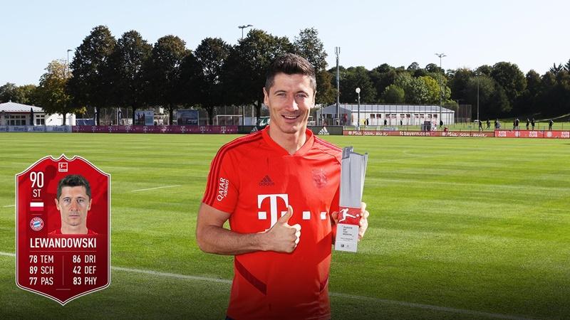 Lewandowski named Bundesliga Player of the Month for August - Bóng Đá