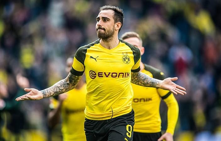 Paco Alcacer to miss Dortmund's clash with Slavia Prague - Bóng Đá