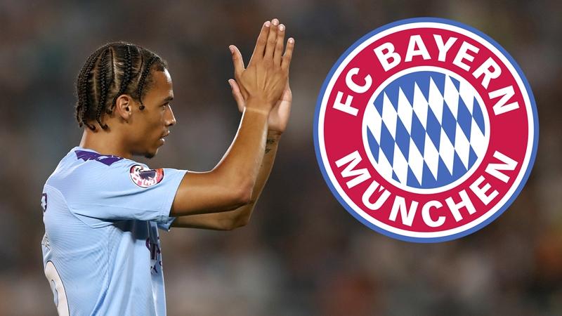 Bayern luôn quan tâm đến Sane.