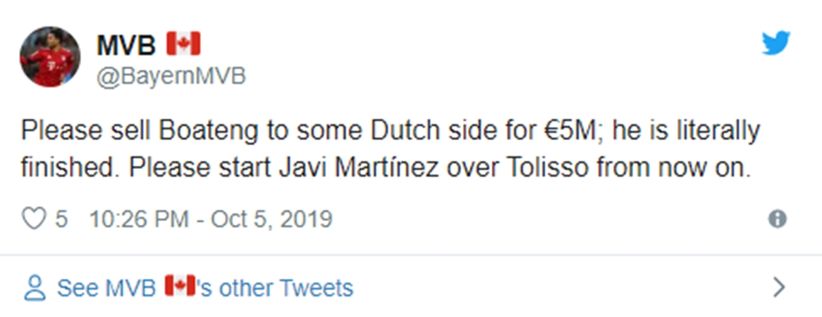 Fans slam Jerome Boateng after defeat at home to TSG Hoffenheim - Bóng Đá