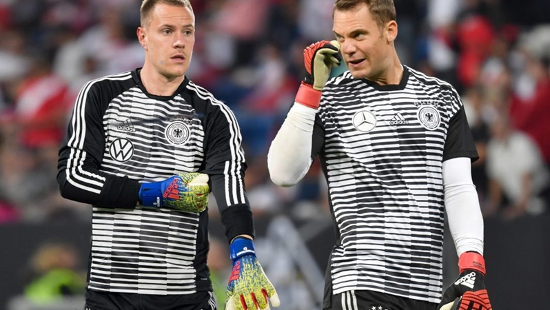 Ter Stegen addresses 'fallout' with Manuel Neuer over Germany No. 1 debate - Bóng Đá