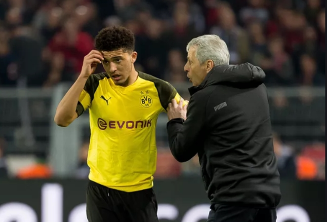Favre refuses to comment on dropping Sancho after Dortmund win - Bóng Đá