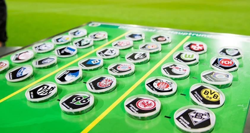 Xác định rõ thời gian bốc thăm vòng 16 đội cúp quốc gia Đức