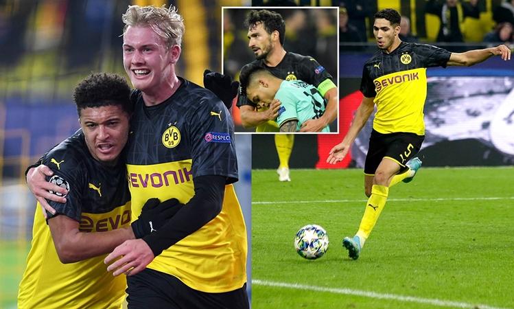 Vì sao Dortmund có thể xuyên thủng hàng thủ trứ danh của Conte? - Bóng Đá