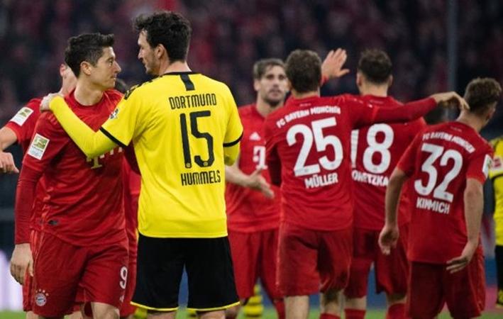 Thua Bayern, Hummels đến chỗ Lewandowski làm 1 điều sau trận - Bóng Đá