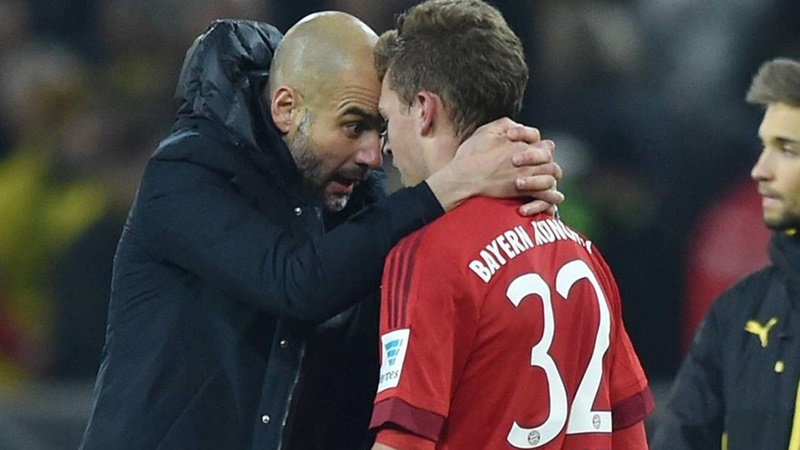 Joshua Kimmich admits he wants Pep Guardiola back at Bayern Munich - Bóng Đá