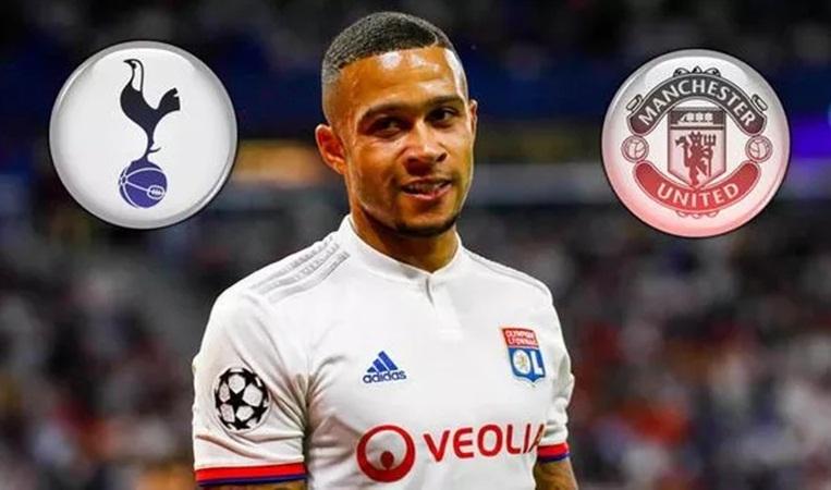 Memphis Depay responds to Tottenham, Man Utd transfer speculation - Bóng Đá
