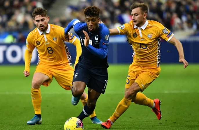 Bayern Munich's Kingsley Coman back from international duty with minor muscular issue  - Bóng Đá
