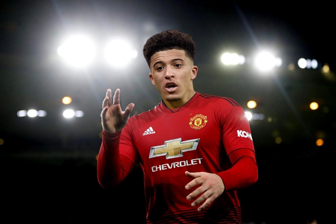 How Manchester United target Jadon Sancho compares to Daniel James James - Bóng Đá