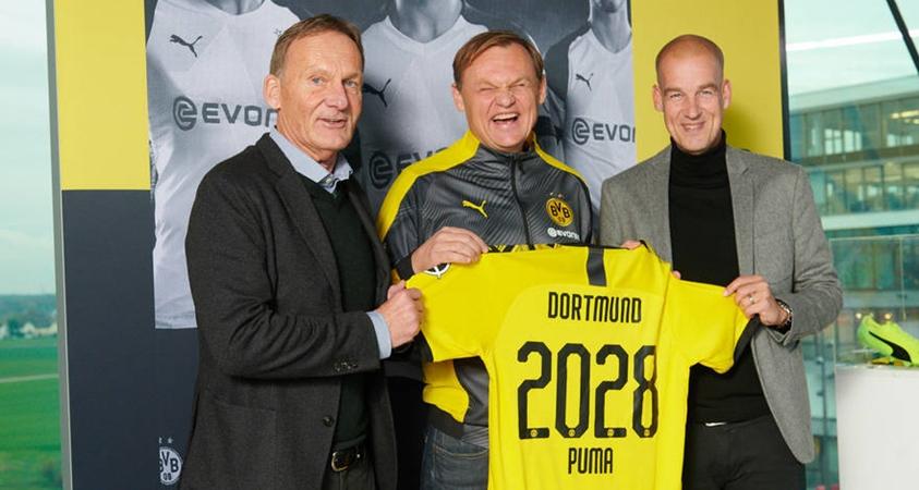 Borussia Dortmund and PUMA extend until 2028 - Bóng Đá