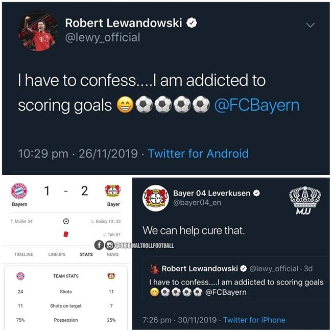 'Gáy' quá sớm, Lewandowski bị đối thủ lôi ra làm trò đùa - Bóng Đá