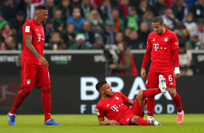 Corentin Tolisso and Jerome Boateng pick up minor injuries in Mönchengladbach - Bóng Đá