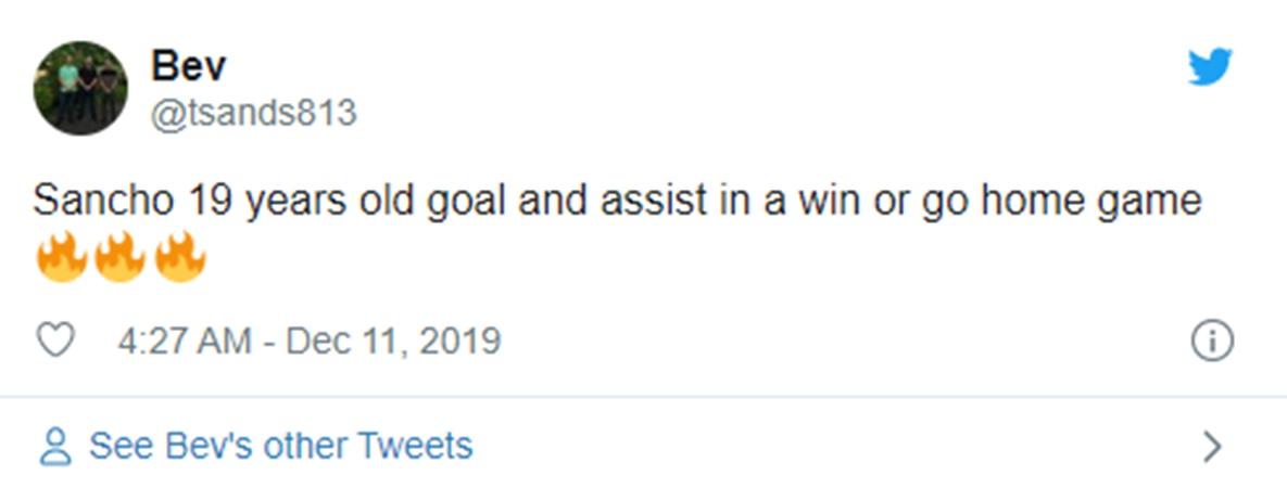 Twitter Reacts as Jadon Sancho Inspires - Bóng Đá