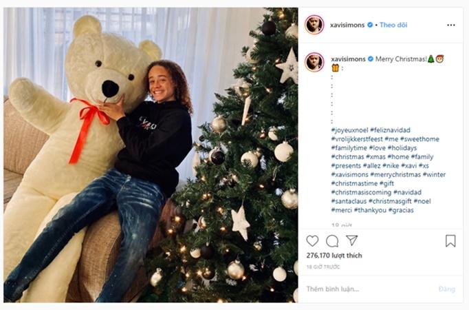 Dàn sao PSG hạnh phúc bên gia đình đón Giáng Sinh ấm áp - Bóng Đá