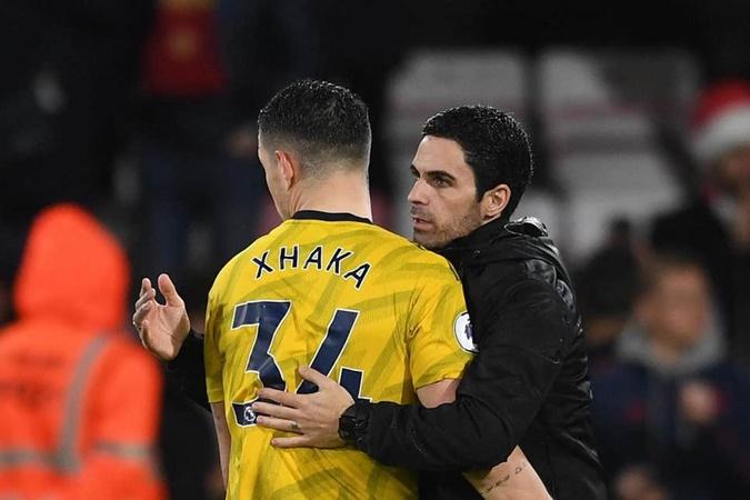 Granit Xhaka wants to remain at Arsenal - Mikel Arteta - Bóng Đá