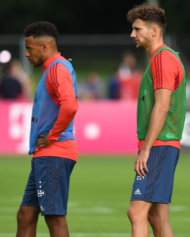 Corentin Tolisso and Leon Goretzka will be fit and ready for the Bundesliga restart  - Bóng Đá