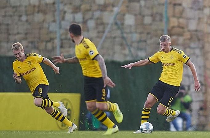 Erling Haaland makes debut as Borussia Dortmund lose to Mainz - Bóng Đá