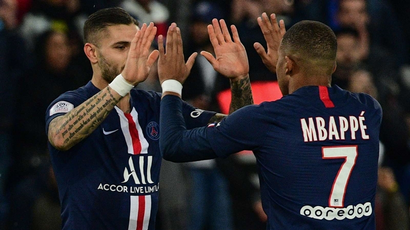 Mbappe linking with Icardi like he did with Falcao at Monaco - Bóng Đá