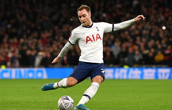 Paris Saint-Germain 'prepared to rival Inter' for Christian Eriksen after Italian club see £10.5m offer rejected for the Tottenham midfielder - Bóng Đá