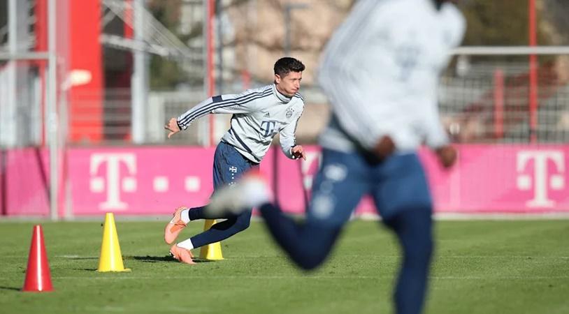 Lewandowski, Gnabry tập luyện trở lại, sẵn sàng ra sân tại Bundesliga - Bóng Đá